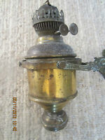 OLD, MARITIME BRITISH BRASS LANTERN IN GIMBLE