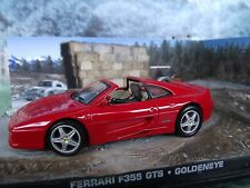 1:43 Ferrari F355 GTS James Bond 007   Goldeneye  Diorama