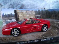 1:43 Ferrari F355 GTS James Bond 007   Goldeneye  Diorama