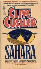 Sahara:Dirk Pitt series #11 - Clive Cussler PB Mystery Intrigue Suspense Danger!