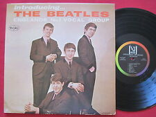 INTRODUCING THE BEATLES (1964) ORIG MONO LP VJLP-1062 COLUMN BACK AUDIOMATRIX
