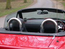 Mazda MX5 Wind Deflector to fit TT Style Roll Hoops (Roll Hoops not included)