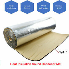 Sound Deadener Heat Shield Insulation Thermal Barrier with Adhesive 48