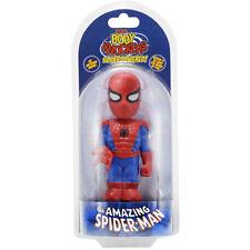 Marvel Body Knocker Spiderman Figure NEW Toys Bobble Head NECA Solar Powered