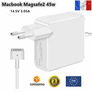 """Chargeur pour Apple MACBOOK Air 11"""" 45w  Air Magsafe 2 Adaptateur 11 13pouces"""