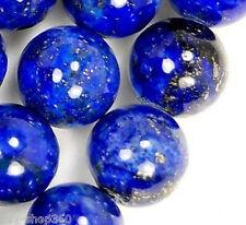 """8mm A++Natural Indigo Lapis Lazuli Round Gemstone Loose Beads 15"""""""