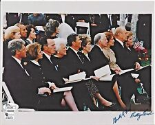 GERALD FORD & BETTY FORD Signed Autograph 8x10 Photo US President JSA COA