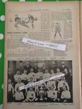Antique magazine 1899 - The Golden Penny ( BATLEY RUGBY FC )