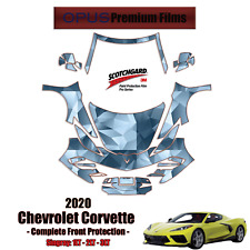3M PRO Series PreCut Paint Protection Kit for Chevrolet Corvette 2020 FULL Front