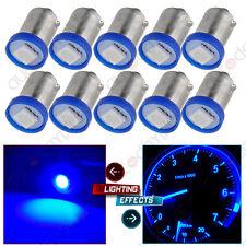 10X Blue BA9S LED 1SMD Dash Instrument Panel Cluster Light Bulbs 1895 3886X 57