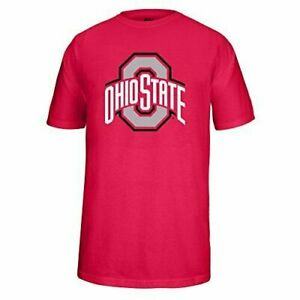 J America NCAA Ohio State Buckeyes Youth (M) Athletic O Choice Tee Shirt Red NWT