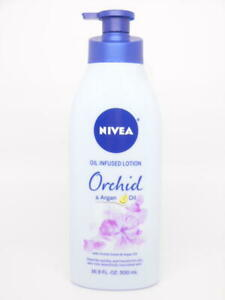 NIVEA Orchid & Argan Oil Infused Body Lotion - Pump Bottle - 16.9 fl. oz.