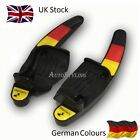 German Flag Colours Paddle Shift Extensions DSG VW Golf 5 6 MK5 MK6 GTI Germany