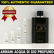 Giorgio Armani Acqua Di Gio Profumo EDP 2ml 3ml 5ml 10ml AUTHENTIC DECANT SAMPLE