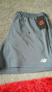 BNWT Mens NB Grey Run Shorts XL