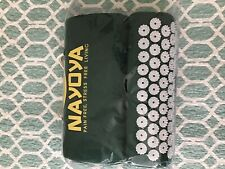 NAYOYA Back, Neck, Muscle Pain Relief Acupressure Mat and Pillow Set Stress Free