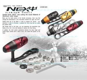 NEXT Power T-Bar Jigging Handle Set・ Accurate・Daiwa・Shimano・Okuma・ABU・Okuma Pose