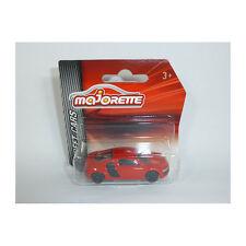 Majorette 212052791 Audi R8 rot - Rue Voitures 1:64 Maquette de Nouveau! °