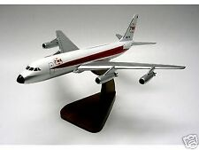 CV-880 TWA Convair Trans World Airplane Desk Wood Model Small New