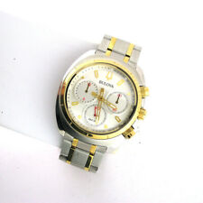 Bulova Mens 98A157 Chronograph Stainless Steel Link Band Date Analog Watch
