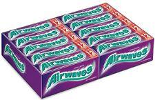 (1000g=33,71€) Wrigleys Airwaves Cool Cassis - Kaugummi - 30 Packungen