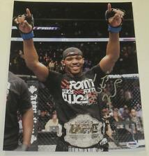 JON JONES SIGNED 11X14 PHOTO BONES MMA UFC CHAMPION AUTHENTIC AUTOGRAPH PSA/DNA