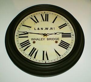 London & North Western Railway Victorian Style Clock, Whaley Bridge Station