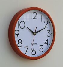 Wall Clock School Office Kitchen Home Shabby Chic Decor Quartz 30cm Rustic