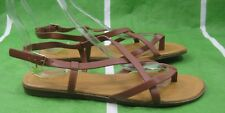 NEW LADIES Summer Brown/tan Womens Shoes Gladiator Sandals Size 9