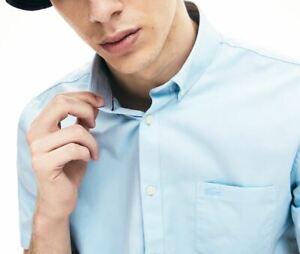 Lacoste Herren Kurzarmhemd regular fit Mini Piqué Shirt FR 42 UVP: - £ 100