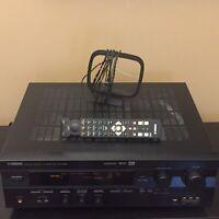 Yamaha RX-V596 AV Receiver Dolby Digital Surround DTS & Remote RAV210 Bundle