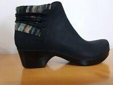 Dansko Tami Neutral Support Black Nubuck Women's Boots  -NEW -  Size EU 36