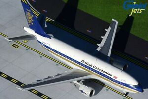 British Caledonian Airbus A310-203 G-BKWT 1980s colors 1/200 diecast GeminiJets