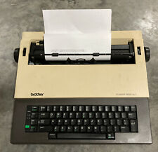 Brother Student-Riter XL I Electronic Typewriter (Tested) Works Great