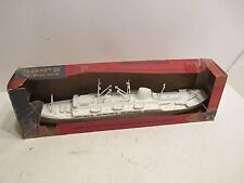 CARGO SHIP WITH HELO PAD NEAR MINT IN BOX VINYAGE 1950s