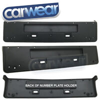 AUDI BMW VW GOLF M5 M3 UNIVERSAL EUROPE EURO NUMBER PLATE FRAME LICENSE HOLDER