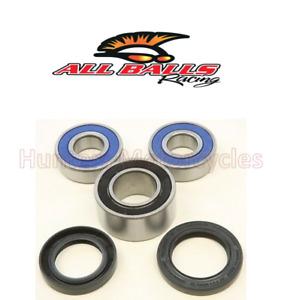Honda CBR600 F4i REAR Wheel Bearings & Seals Kit, By All Balls 2001 to 2006