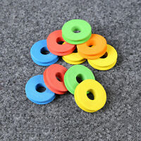 100pcs Round Shape Foam Fishing Winding Board Line Bobbin Spools Tools slap