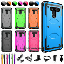New listing For Lg G8 ThinQ / G7 ThinQ Shockproof Hybrid Impact Rugged Hard Phone Case Cover