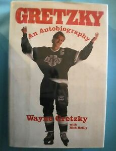 Vtg 1990 1st ed. GRETZKY, An Autobiography by Wayne Gretzky NHL HOCKEY HOF Star