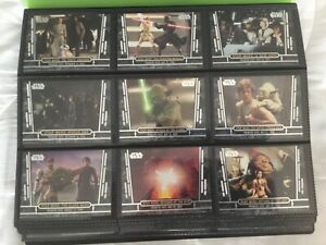 Star Wars 40th Anniversary Complete 200 Card Set Topps - 2017