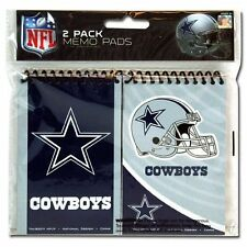 "NFL Dallas Cowboys 2pk Spiral 3x5"" Memo Pad, Tony Romo, Football"