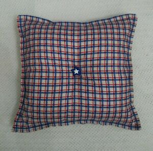 New Gift Holiday Handmade Pillows Décor 9 3/4 in x 9 1/4 in
