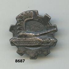 Insigne polonais , Unité de chars , ( Ø 24mm. )