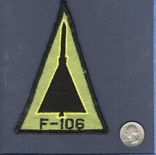 "Original F-106 DELTA DART USAF Convair Fighter Interceptor 5"" Squadron Patch G"