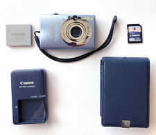 Canon PowerShot SD1100 IS Blue 8.0mp Camera Bundle: Battery, Case, Charger & SD