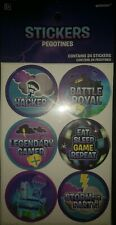 Amscan Fortnite Stickers pack of 24