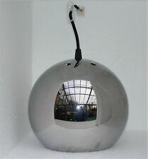 vintage 70er J. Chrom Kugel Lampe - ERCO - mit neuer Fassung