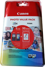 ORIGINAL CANON PG540XL CL541XL DRUCKER PATRONE PIXMA MG2150 MG3150 MG4150 SET