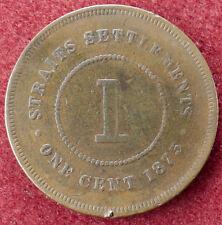 Straits Settlements 1 Cent 1875 (D3004)